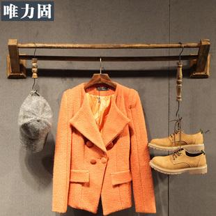 唯力固童装服装店展示架上墙组合正挂卖衣服架子展示架女装店货架