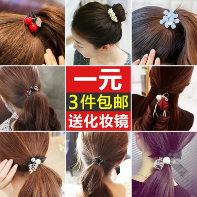 韩国饰品发饰发圈头绳发带扎头发橡皮筋发箍皮套头饰发夹发绳发卡