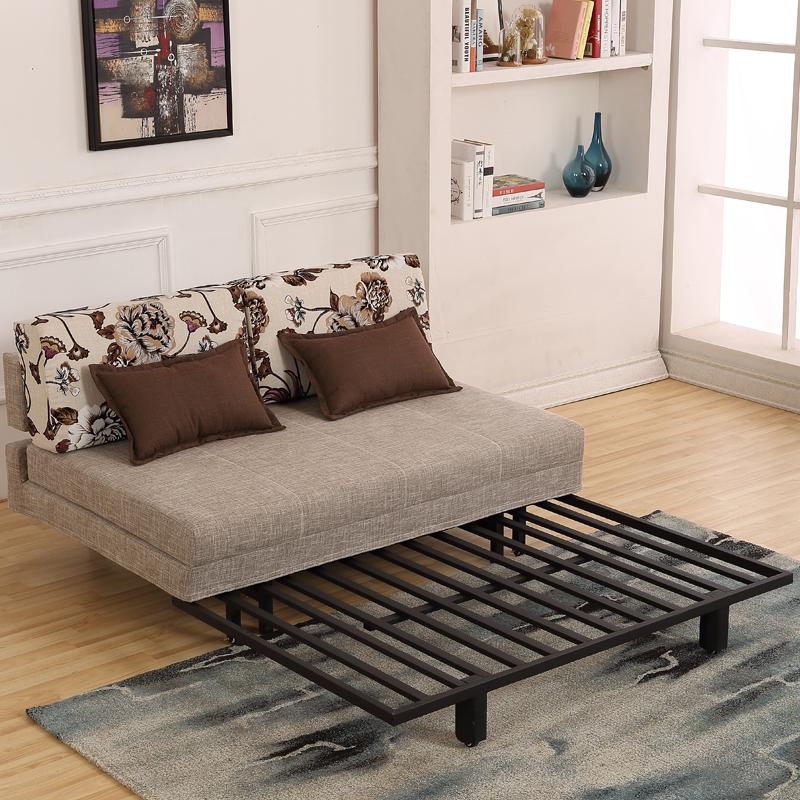 沙发床1.5可折叠双人1.8宜家现代小户型拆洗多功能1