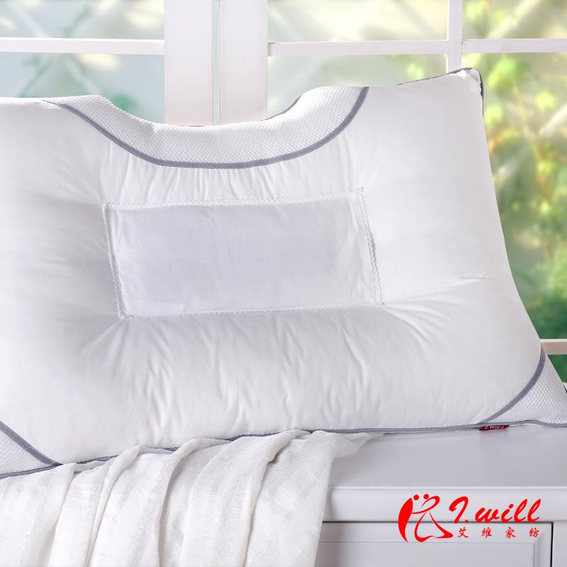 艾维家纺 决明子荞麦磁疗双面枕芯 颈椎病专用枕头 特价正品 包邮