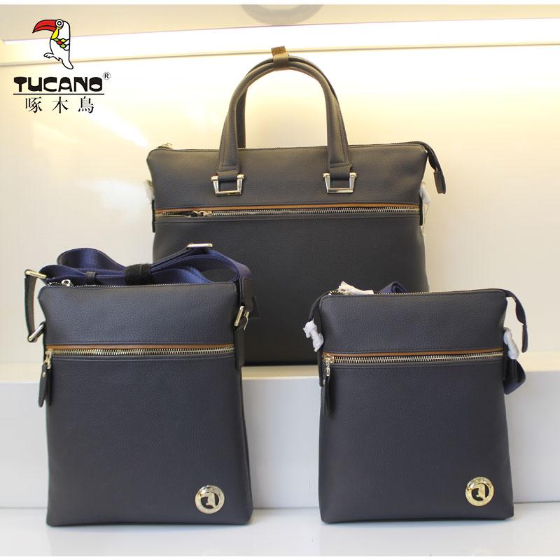 新款正品啄木鸟男包手提包单肩包tbf0201 tbf0203 tbf0204-07