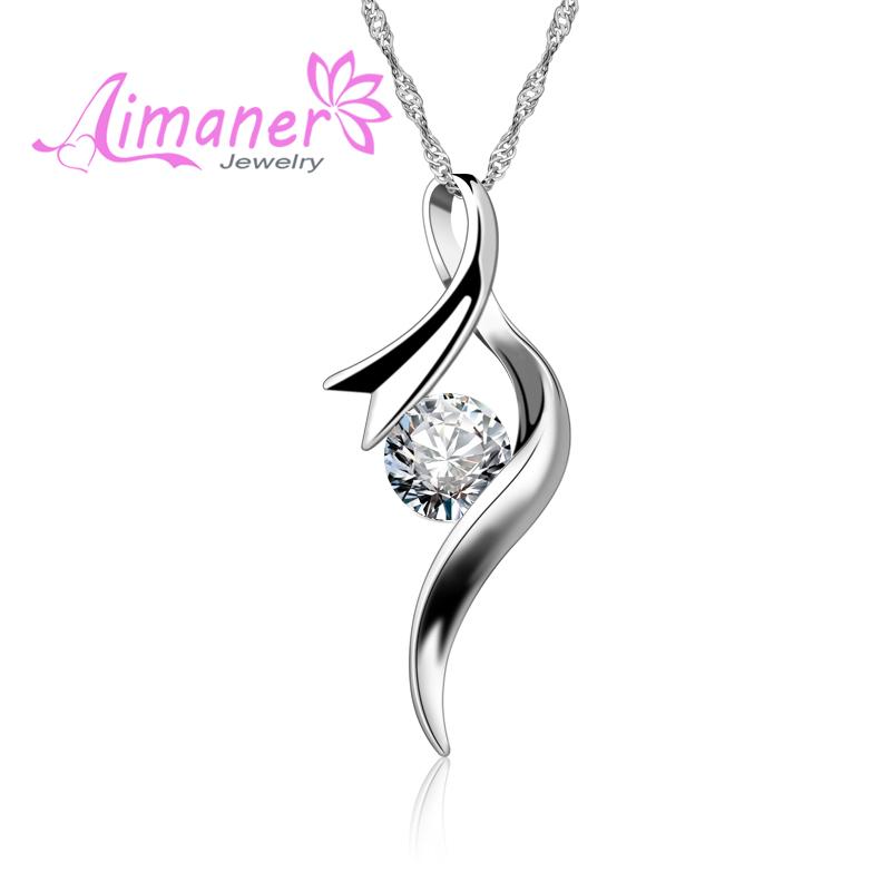 925纯银项链女士项链锁骨链韩版短款 锁骨链送女友礼物