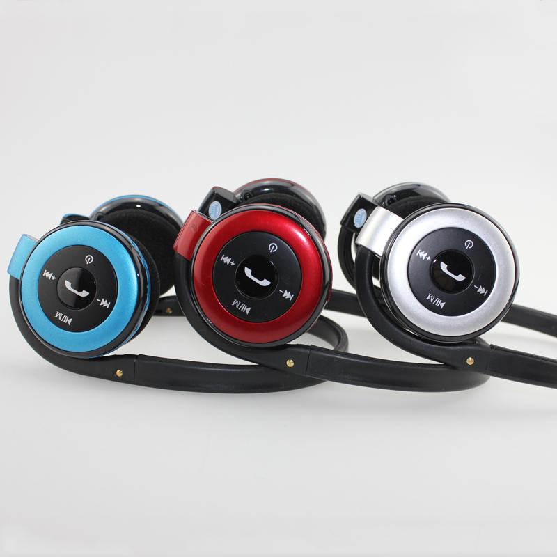 随身宝后挂头戴式无线插卡蓝牙耳机4.0立体声 运动型无线双耳耳麦