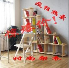宜家玩具收纳架 花架实木创意格子货架置物架层架书架简易窄鞋架