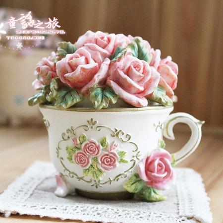 欧式复古家居装饰品摆件公主首饰盒创意生日礼物韩式