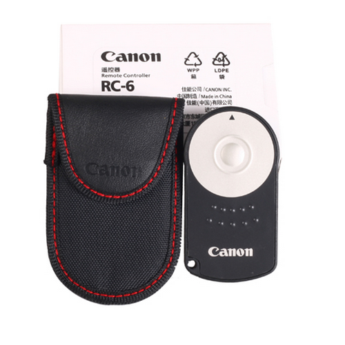 佳能遥控器 RC-6 RC6 600D 550D 5DII 7D 60D 650D 5D3 相机配件