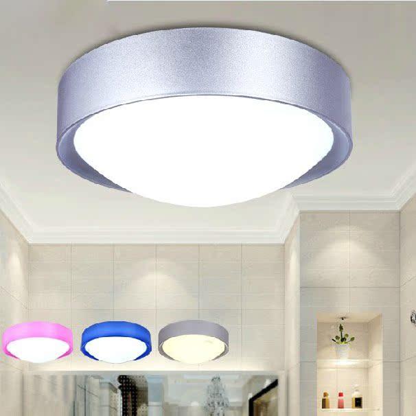 麦可士 led吸顶灯阳台灯现代简约卧室灯厨房灯过道灯具灯饰 12瓦