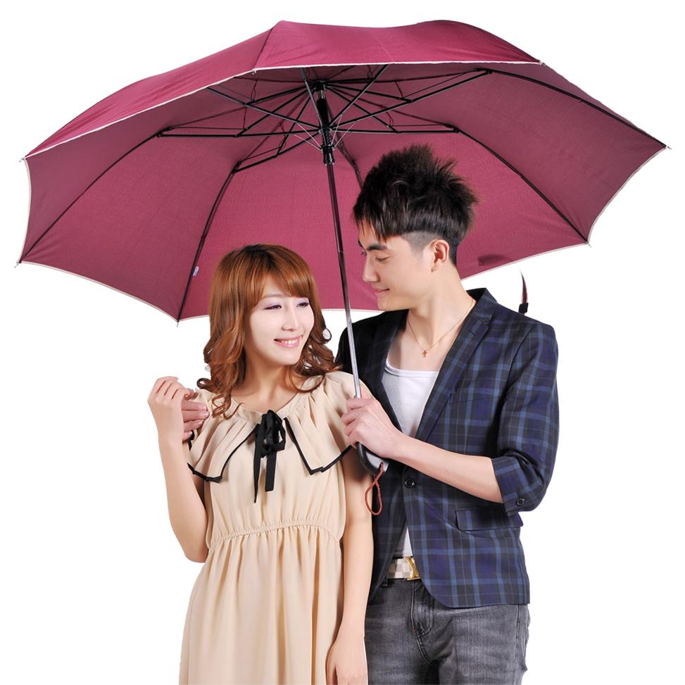 天堂伞正品专卖晴雨伞创意折叠商务雨伞超强防紫外线自动伞包邮