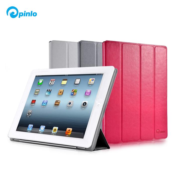 英国pinlo苹果平板电脑Ipad2/3/4通用保护壳/支架皮套PU简约时尚
