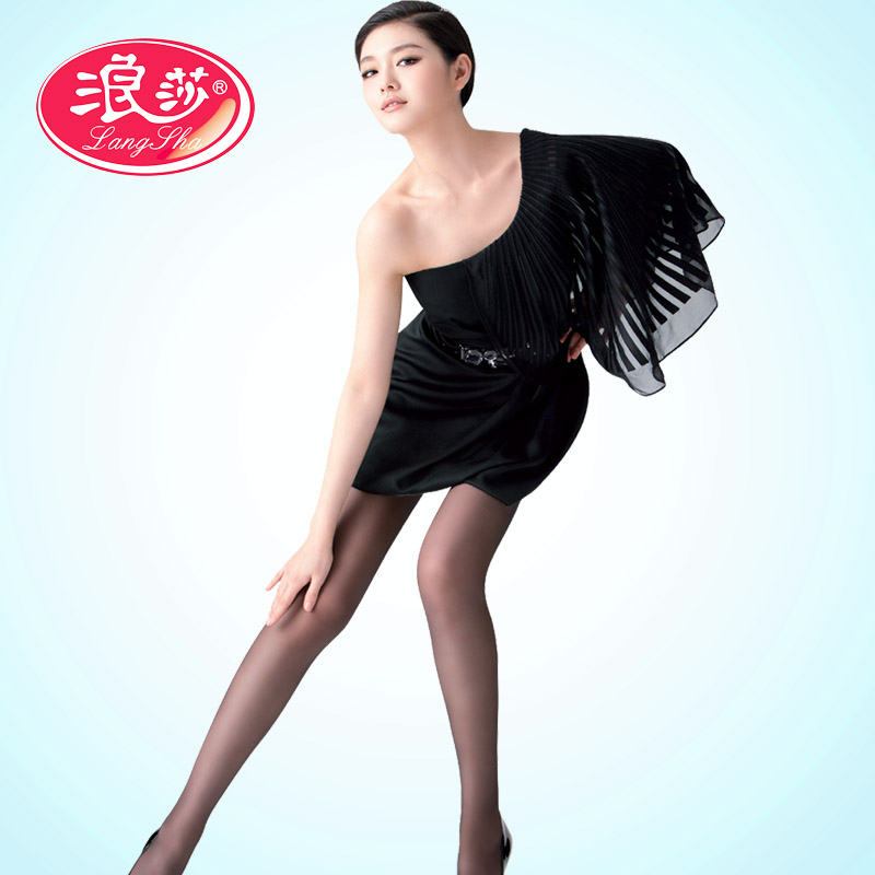 浪莎丝袜子 女士超薄高科技防蚊虫清爽舒适美腿连裤女袜包邮