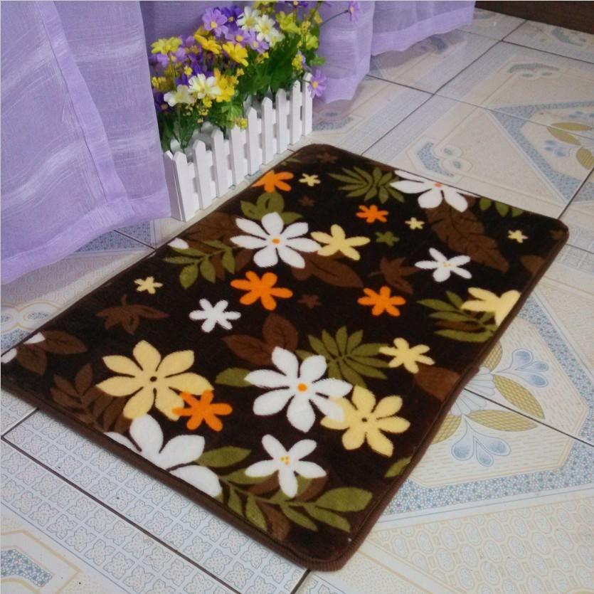 【天天特价】珊瑚绒图案门前地毯 客厅卧室阳台玄关地毯门厅地毯