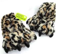 冬季毛绒创意兽爪全包居家新奇女生送男朋友生日礼物 奇葩实用拖鞋