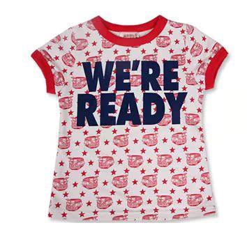 版男童装2011年夏季爆款字母 儿女童舒适圆领纯棉短袖T百元4件