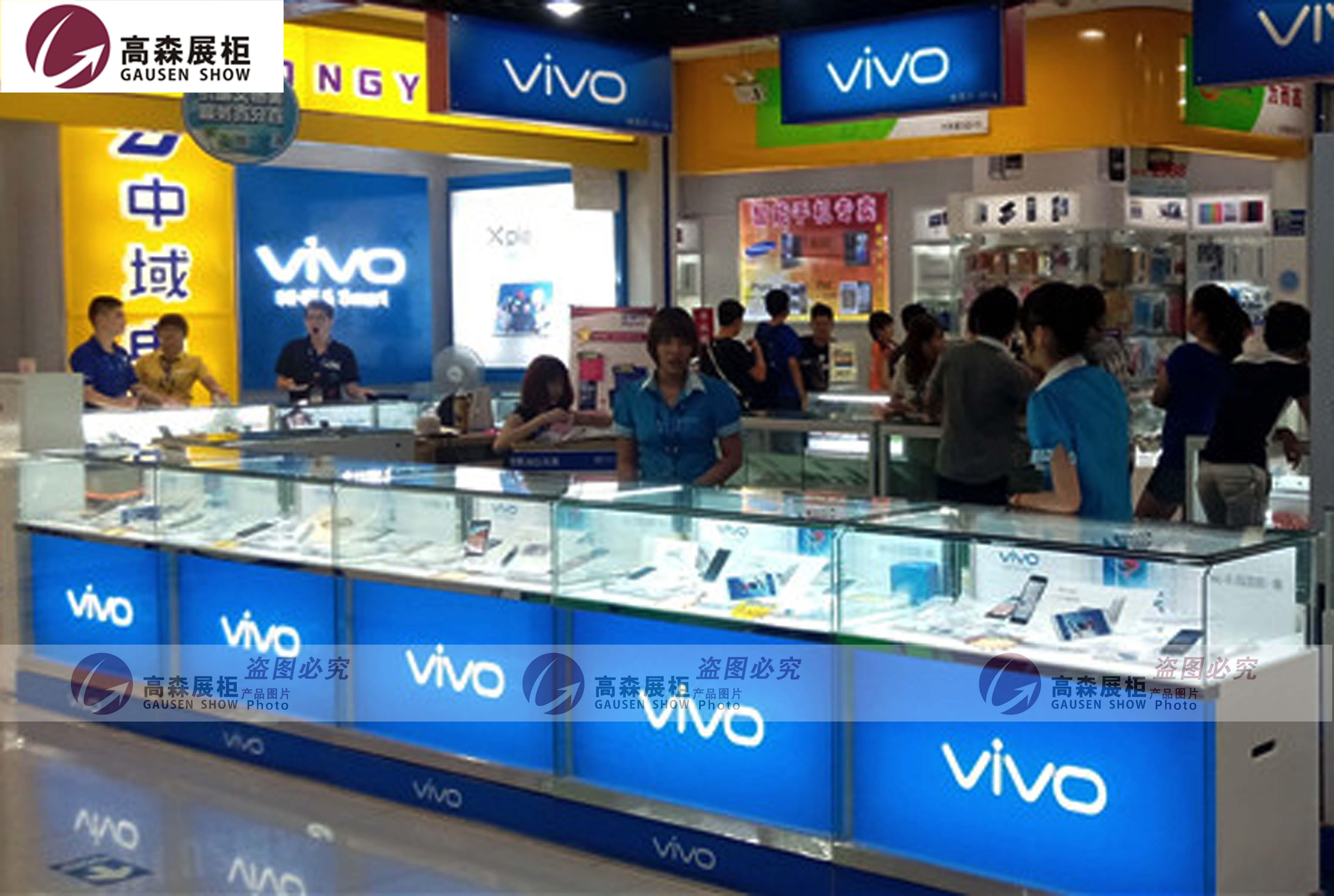 手机柜台 vivo手机柜台 三星展柜 苹果展柜 步步高手机柜台