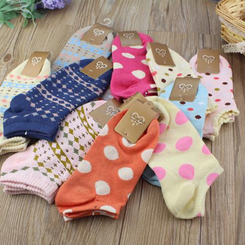 6双包邮袜子 女 纯棉 夏季多款船袜女士棉袜夏季薄女短袜 全棉袜