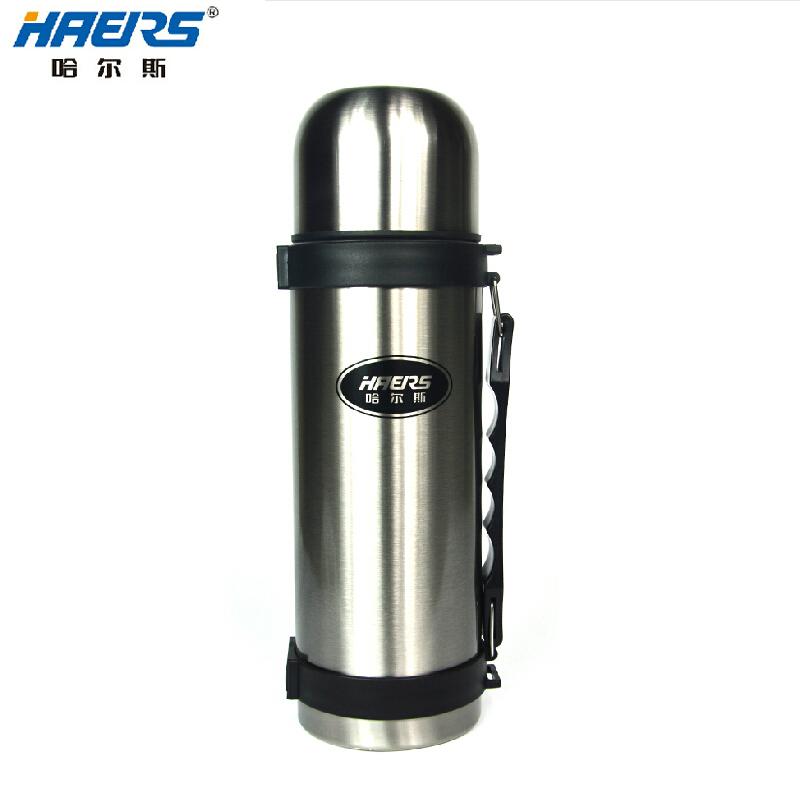 正品哈尔斯保温杯 1200ML正品不锈钢保温壶 户外热水瓶包邮