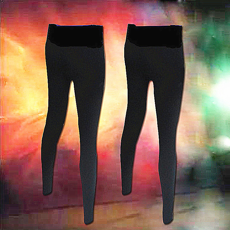 YUNING女高弹力运动瑜伽九分长裤健身裤速干紧身跑步打底裤加大码