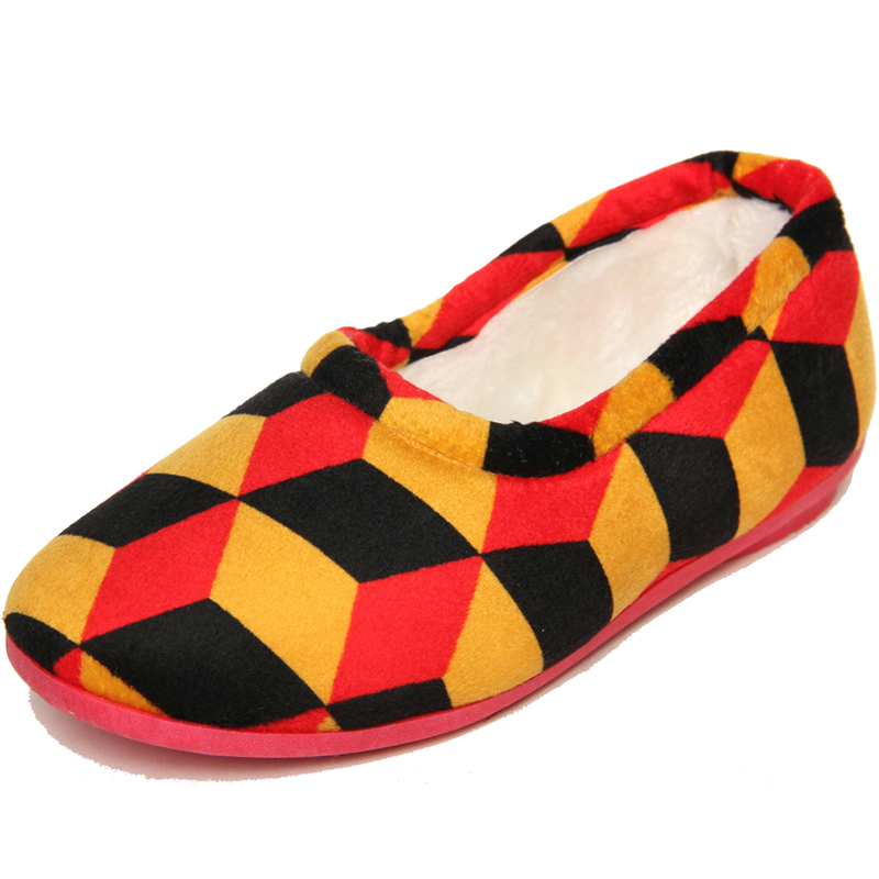 正品老北京布鞋 防滑底女棉鞋棉拖鞋冬季居家休闲鞋保暖鞋女拖鞋