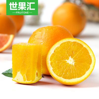 【世果汇】湖北秭归脐橙5斤 新鲜酸甜橙子水果 包邮