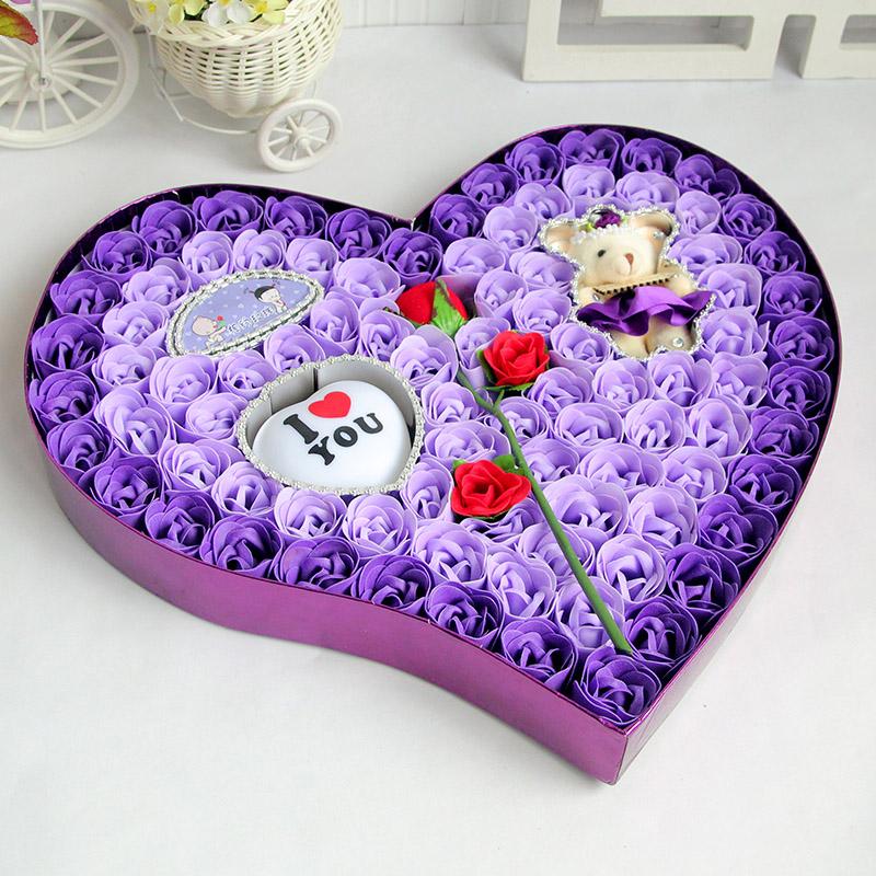 情人节礼物送女友男友朋友女生日闺蜜老婆diy浪漫新年创意小礼品