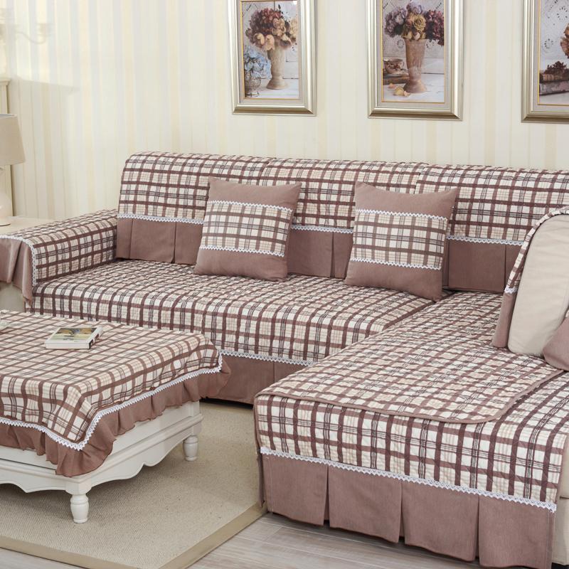 垫布艺全棉四季通用实木沙发坐垫沙发罩沙发套沙发巾