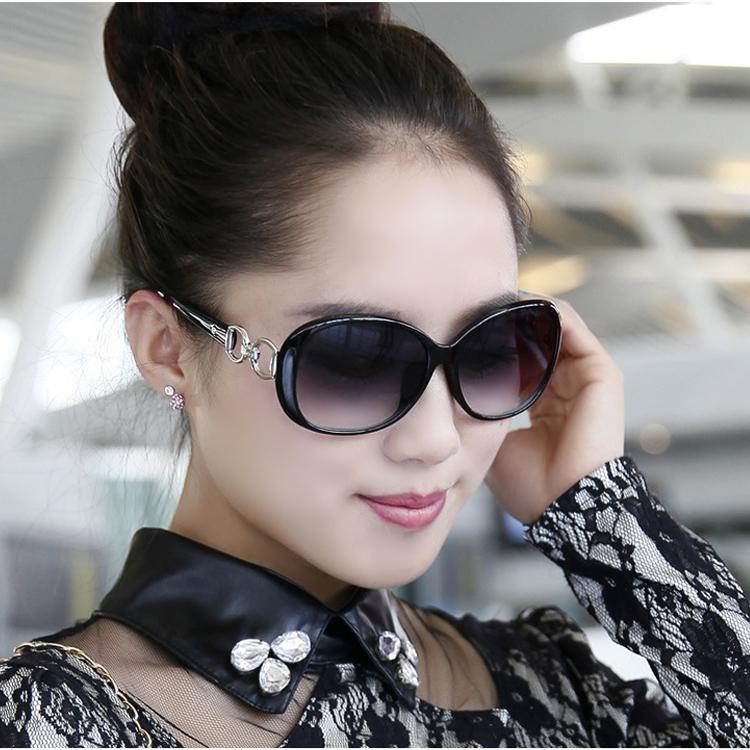 时尚太阳镜女士墨镜2015新款明星潮大框防紫外线太阳眼镜送镜盒