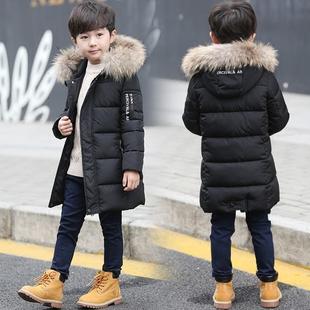 童装男童冬装棉衣中长款2017新款中大童儿童棉袄韩版外套羽绒棉服