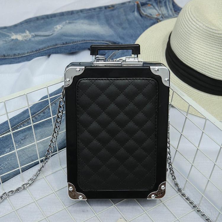 2017夏季新款女包潮流迷你拉杆箱单肩手提斜挎手机钥匙包