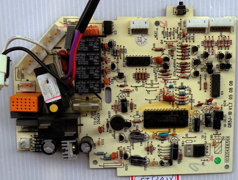 格力空调电路板 原装新金豆线路主板m505f3 电脑控制板 301350862