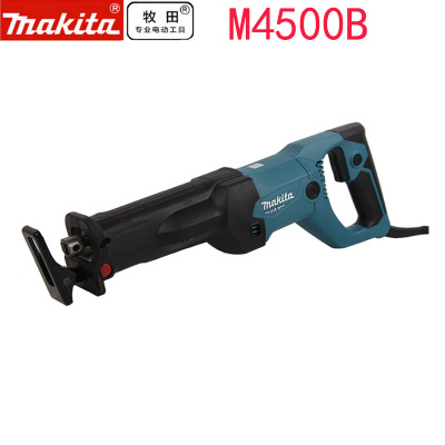 日本Makita牧田m4500b往复锯电动调速马刀锯切割金属电缆木材