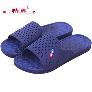 【天猫超市】快鹿夏季多彩防滑厚底家居拖鞋情侣款家居浴室拖鞋