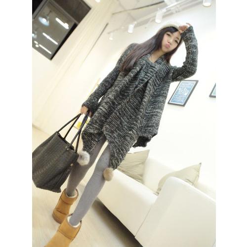 苛苛非主流少女生90后女装2014可爱潮学生韩版秋装冬装冬天针织衫