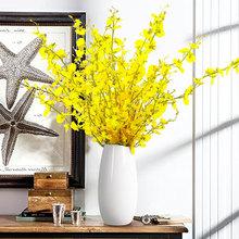 现代简约落地客厅 创意时尚摆件家居装饰品 陶瓷干花花器花瓶花艺