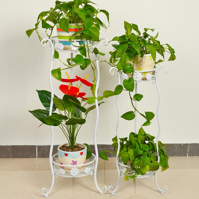 淘宝-欧式简约多层室内盆栽组装植物架卧室阳台客厅