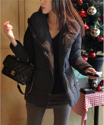 棉袄女2014冬季新款女装韩版修身短款棉衣外套女冬装学生加厚棉服