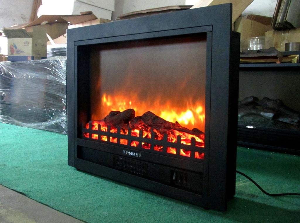 电壁炉 镶嵌壁炉芯 放真火观赏取暖壁炉TH666 26Q3P带面框