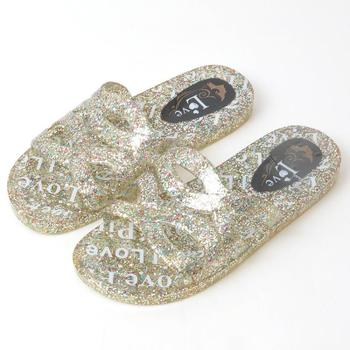 按摩拖鞋果冻鞋闪亮拖鞋沙滩拖鞋