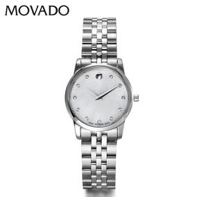 瑞士摩凡陀Movado博物馆系列石英女表 女式休闲腕表0606612