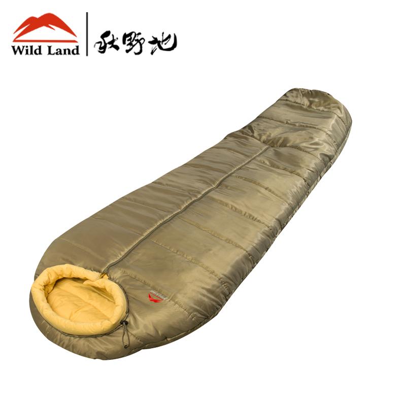 秋野地 全棉露营睡袋 棉质 户外加厚 成人睡袋 午休睡袋 秋冬睡袋