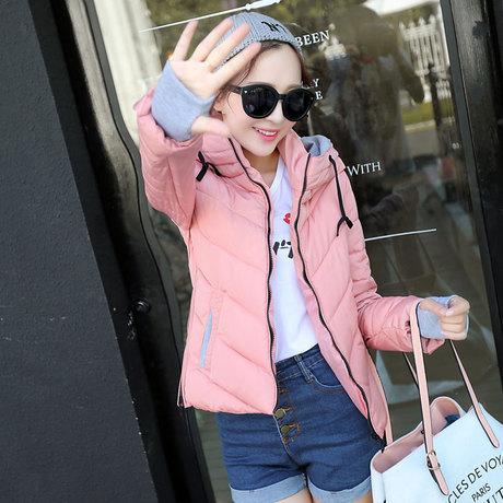 羽绒服正品新款韩版冬季短款羽绒服女FL-A1128-865-880