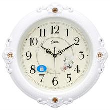 康巴丝静音欧式钟表 挂钟 客厅时尚创意大挂表现代时钟大石英钟表