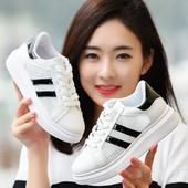 运动鞋 女鞋 网鞋 子厚底柏逍 百搭韩版 春季女学生鞋 小白鞋 女2017新款