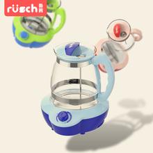 鲁茜 恒温调奶器 婴儿暖奶器自动冲泡机奶泡奶粉多功能玻璃水壶