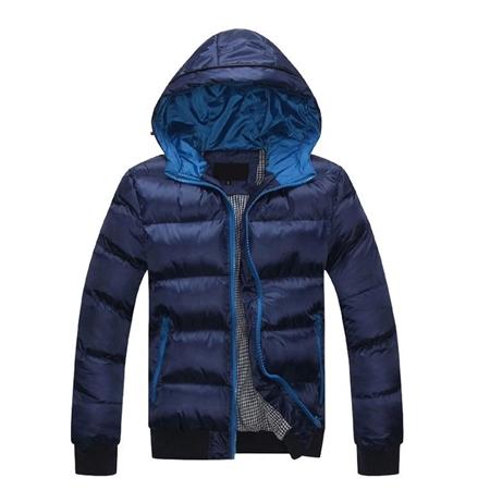 2015 秋冬新款韩版男士休闲外套男式羽绒服品质男装