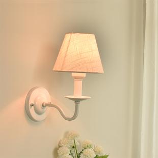 简约欧式美式北欧壁灯宜家风田园地中海混搭床头灯卧室客厅壁灯
