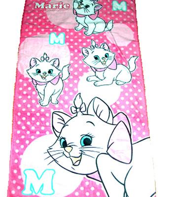 双十一赔钱出售迪士尼Disney玛丽猫Marie浴巾