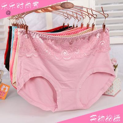 6条包邮 胖女大版莫代尔竹纤维中腰中年大码裤头三角女士内裤热销
