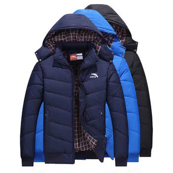 冬季保暖安踏羽绒服男装外套运动