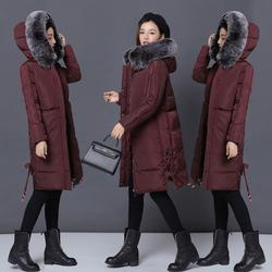2017冬装女新款大毛领反季棉衣女中长款韩版棉袄软妹冬季外套女装