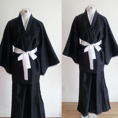 死神衣服 死霸装 死神COSPLAY日本 动漫展装扮 表演出服男装